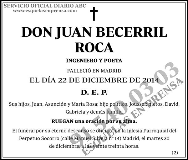 Juan Becerril Roca